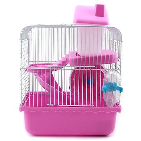 Jaula para Mascotas, Legendog Hamster Cage 2 Level Pet Kennel Casa ...