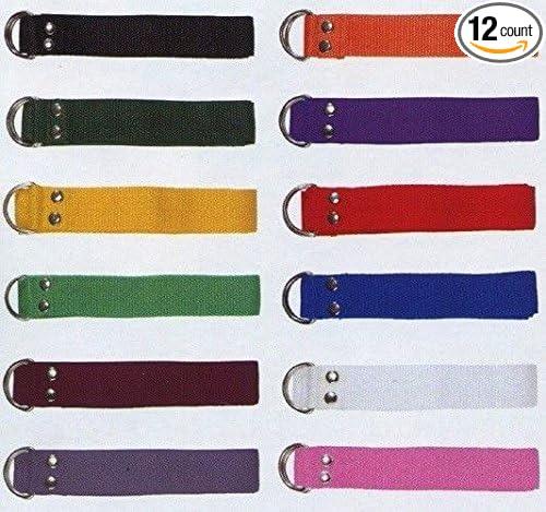 "Various Colors FWB NEW Champro 1/"" in Set of 12 Football Belt 52/"" length"