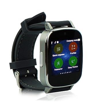 YUNTAB® NX9 Bluetooth Smart Watch (gris): Amazon.es ...
