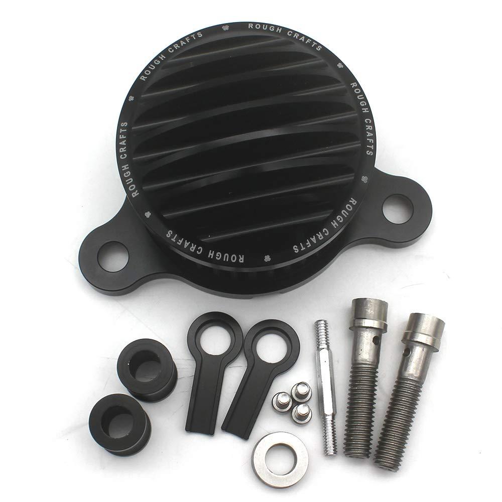 KIPA Sport Air Cleaner Intake Filter System Kit For Harley Davidson Sportster XL883 XL883N XL883R XL883P XL1200 XL1200L XL1200X Iron 883 Forty Eight XL1200X 2004-2016 Aluminum CNC Machined Washable by KIPA (Image #4)