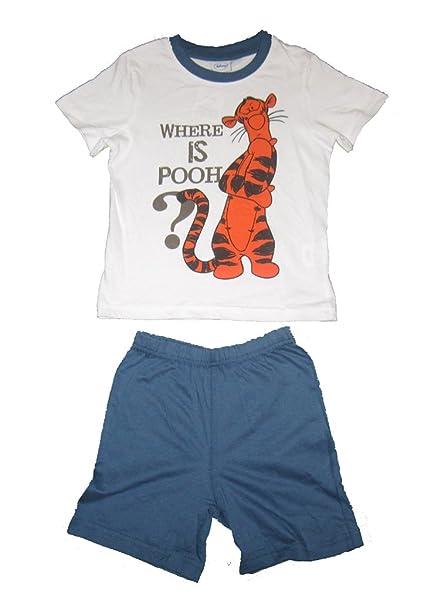 Talla 104 Joven Pijama Set Winnie the Pooh Tigger Tiger Pantalón Unterhose – Camiseta