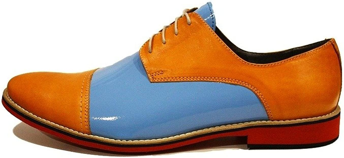 Modello Jabello Handmade Colorful Italian Men Shoes