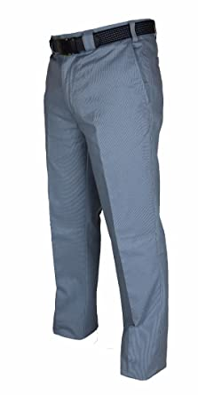 811171ed6f5a6 Mens Stretch Chino Trousers With Belt Great Quality Fine Ribbed Cotton  Casual Summer Pants Soft Feel