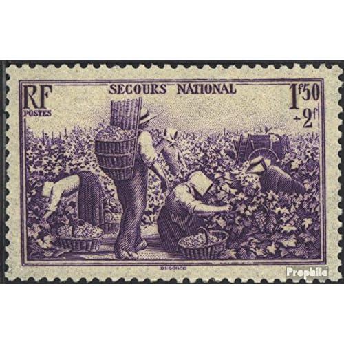 France 498 1940 National Aider (Timbres pour les collectionneurs)
