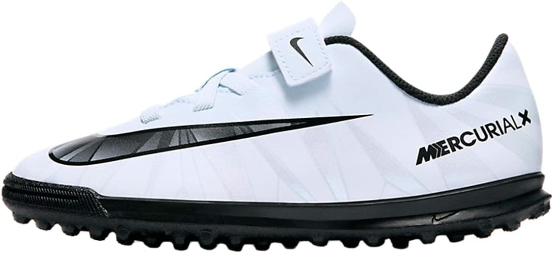 Nike Mercurial Child White Sole Turf