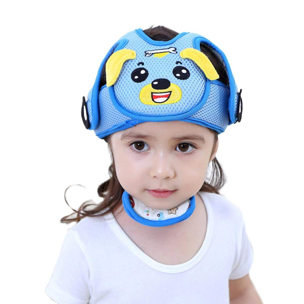 Children Safety Helmet Anti-Collision Adjustable Protective Harnesses Cap Safety Head Protector for Baby Toddler Leiyini