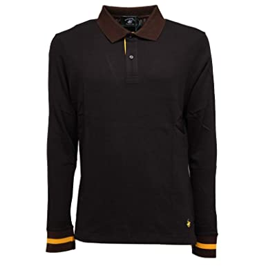 Beverly Hills Polo Club 4024K Polo uomo Black Cotton Polo t-Shirt ...