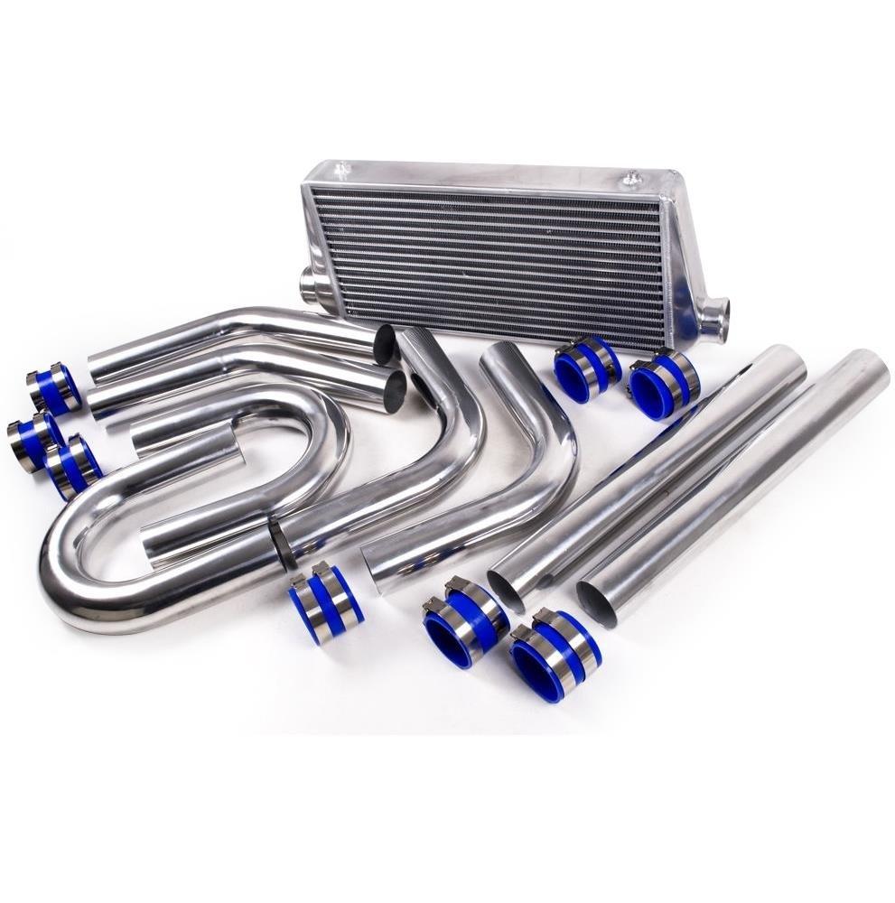 3' Aluminium Alloy Front Mount Intercooler FMIC Kit UK-Performance-Parts