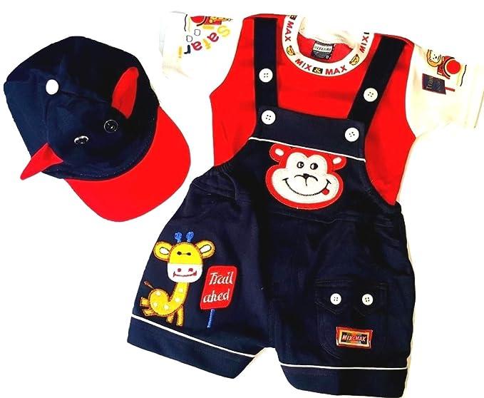 US Cute Newborn Baby Kids Unisex Cotton Romper Jumpsuit Clothes Outfits Sets