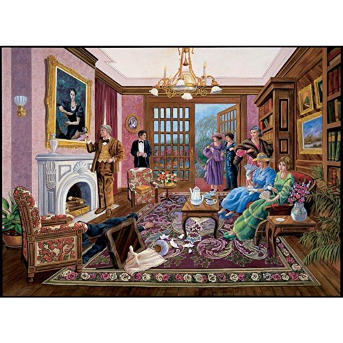 Bits and Pieces - 1000 Piece Murder Mystery Puzzle - Murder at Bedford Manor by Artist Gene Dieckhoner - Solve The Mystery - 1000 pc ()