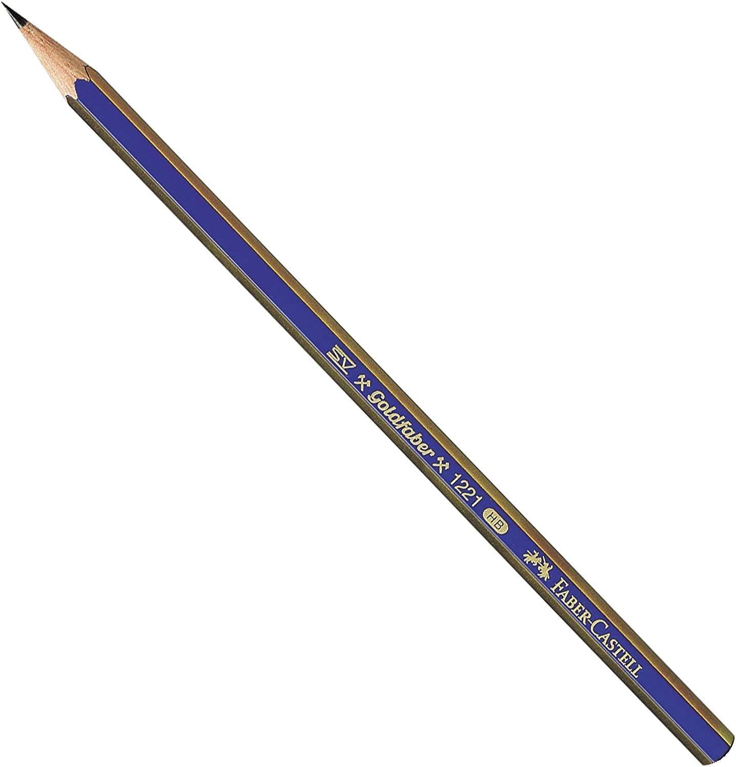 2H, HB, B, 2B, 4B, 6B Graphite Sketch Pencil Set 6 ...