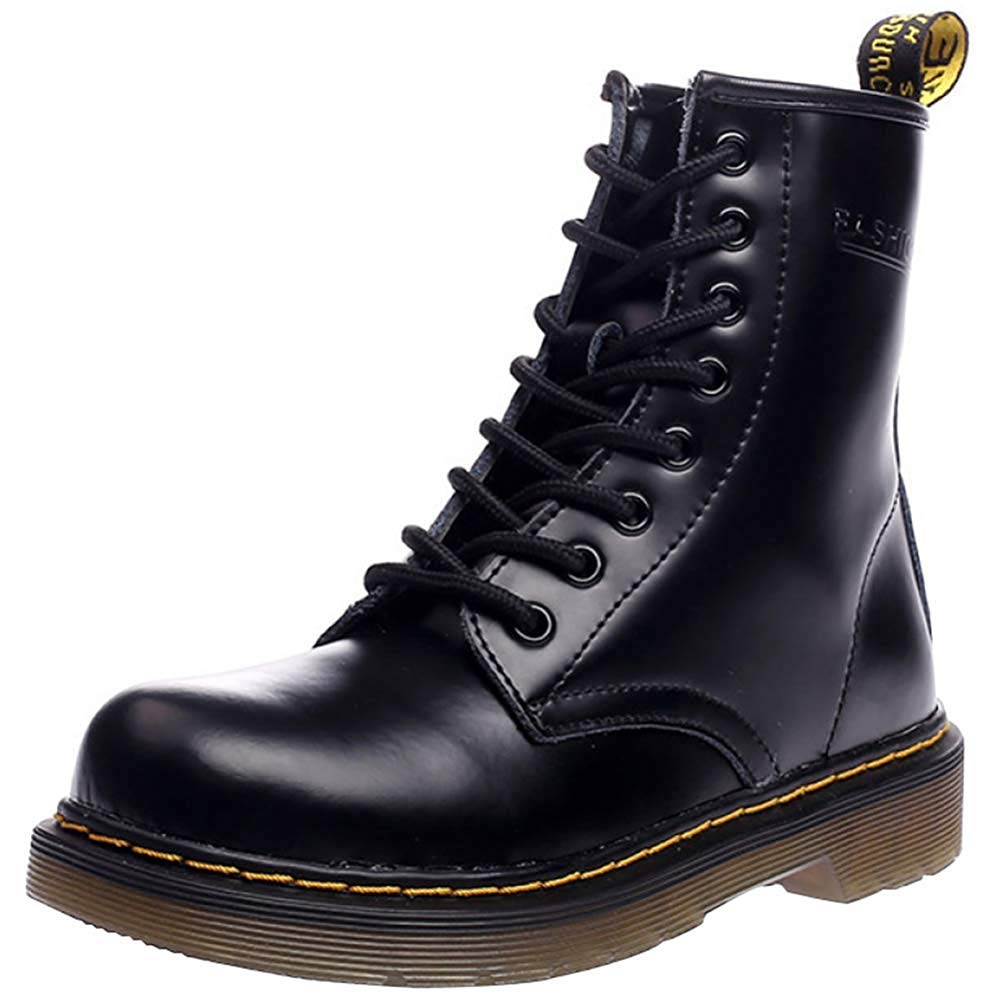 Oudan Männer Und Frauen Knöchel Martin Stiefel Warm Plus Baumwolle Schneeschuhe Liebhaber Schuhe (Farbe   1, Größe   40EU)