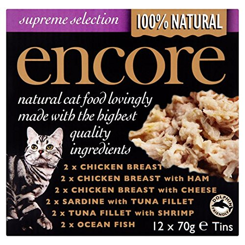 12 X70g Encore Mixed Tinned Cat Food 12 X70g