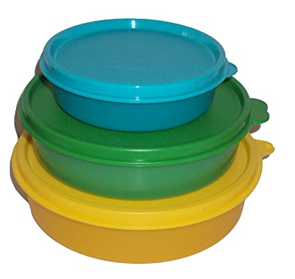 b01f987fedca Amazon.com: Tupperware Big Medium Little Wonders Lunch Box ...