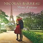 Menu d'amour | Nicolas Barreau