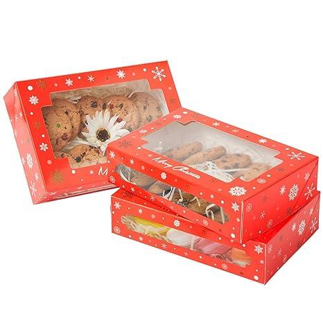 Amazon.com: Yotruth - Cajas de regalo para galletas y dulces ...