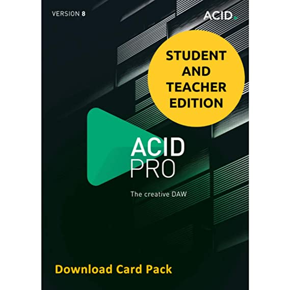 Amazon com: MAGIX Acid Pro 8 for Students & Teachers (Download Card