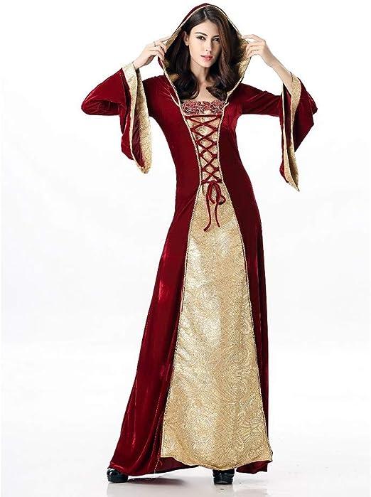 Disfraz de Princesa de Corte Retro Medieval para Adultos, Disfraz ...