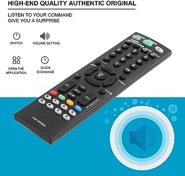 fghdfdhfdgjhh Ajuste AKB73655806 Reemplazo de Control Remoto de TV para LG TVs 32LS3400 32LS3410 32LS3500 37CS560 Partes de Controlador de TV LCD LED: Amazon.es: Electrónica