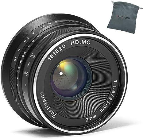 Lente compacta para c/ámaras Canon Eos-M1 Eos-M2 Eos-M3 M5 M6 M1 M1 M5 M6 M10 M100 M50 7Artisans