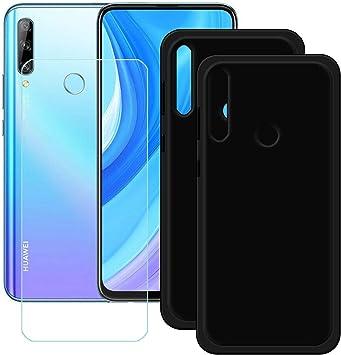 szjckj 2 x Funda para Huawei Y9 Prime 2019 + 1 x Protector de ...