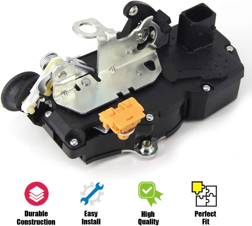Door Lock Actuator Motor Rear Left for 2006-2011 Impala 931-332 10338777 15277755 20790501 25876457