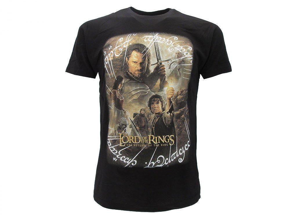 il Signore degli Anelli T-Shirt Originale con cartellino ed Etichetta di originalit/à The Lord of the Rings