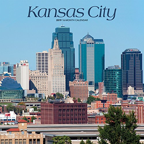 Kansas City 2019 12 x 12 Inch Monthly Square Wall Calendar, USA United States of America Missouri Midwest