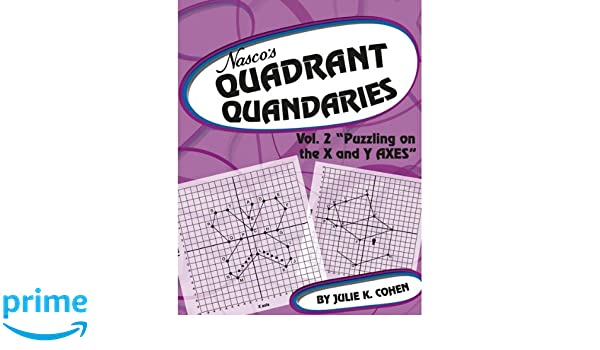 Counting Number worksheets graphing coordinates pictures worksheets : Amazon.com: Nasco TB23797T Quadrant Quandaries, Volume II, 46-Page ...