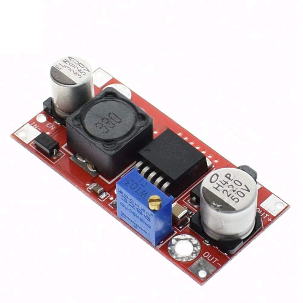 Kineca XL6009 Boost convertidor Step Up Ajustable 15W 5-32V a 5-50V DC-DC m/ódulo de Fuente de alimentaci/ón Sustituya LM2577