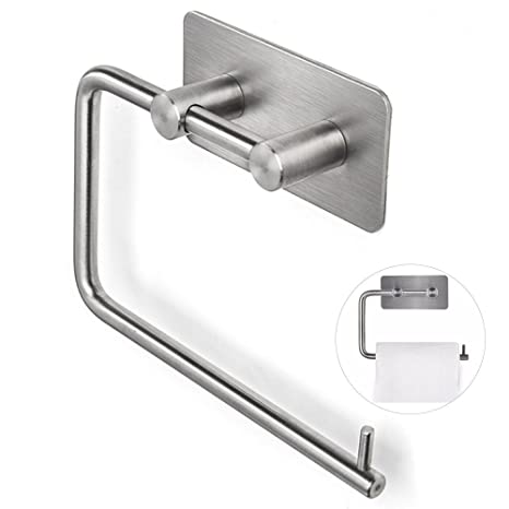 Amazoncom Gertong 1pcs Toilet Paper Holder Stainless Steel Wall