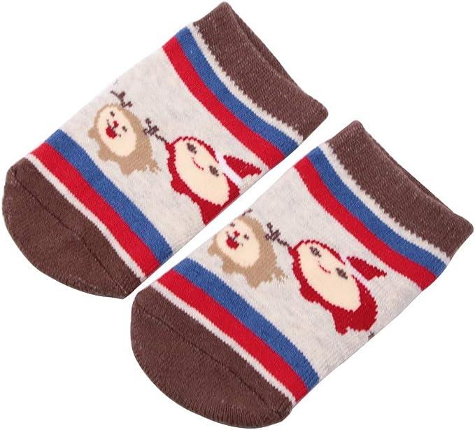 Qiiueen Calcetines De Navidad Para Bebés, Textura De Piel De ...