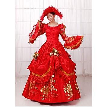 QAQBDBCKL Corte De Noche Vestido De Reina Mujeres Disfraces ...