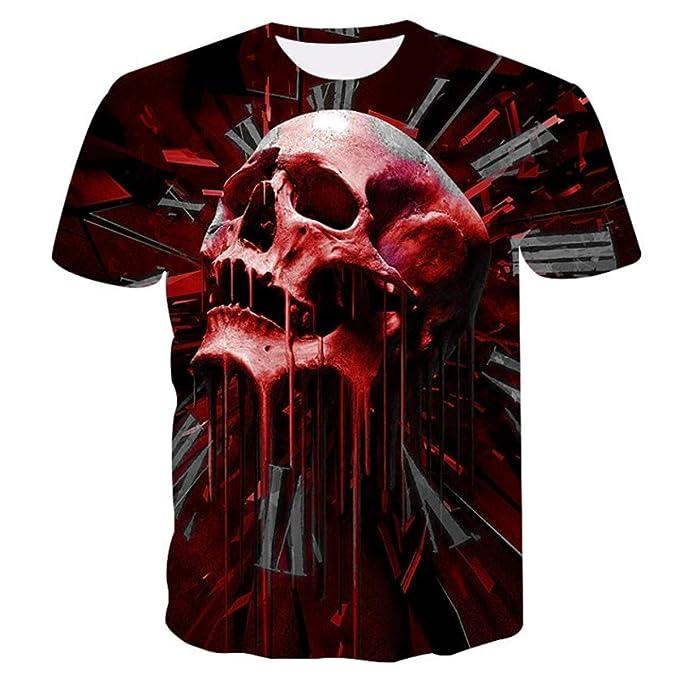 c23529bed85e Wolf 3D Print Animal T-Shirt Men Short Sleeve Summer Tops T Shirt Male  T-Shirts | Amazon.com