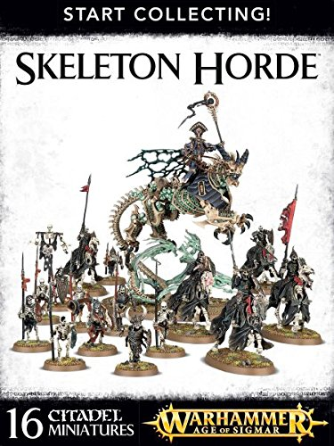 Warhammer Age of Sigmar Start Collecting Skeleton Hordes by Games Workshop