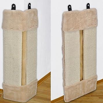 Rascador kratz Tabla Rascador para gatos esquina a los arañazos Matte Protector de cantos de Natural Sisal 50 x 23 x 2/3 cm: Amazon.es: Productos para ...