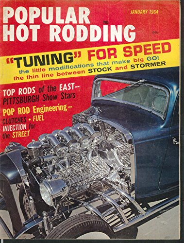 POPULAR HOT RODDING Nerf Bars, Race Kits, Chevy, Willys ++ 1 (Nerf Race)