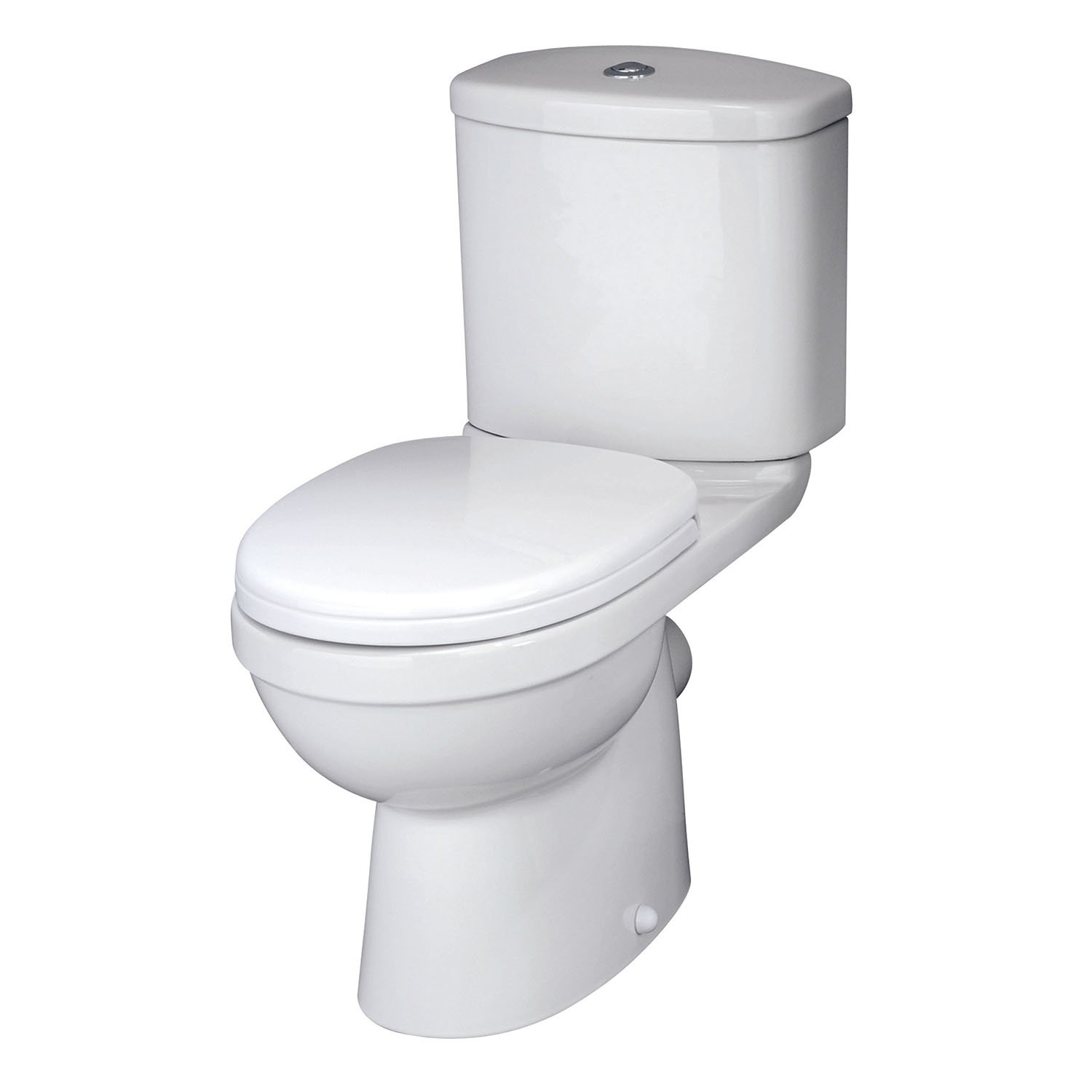 Premier NCS250 Ivo Pan/Cistern and Soft Close Seat - White