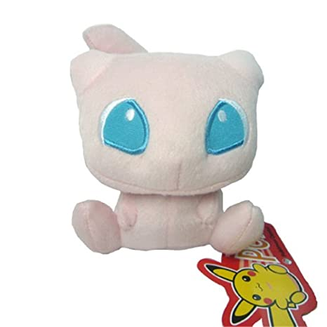 POKEMON - MEW - PELUCHE MEW / MEW PLUSH TOY 14cm / 5,5 ...