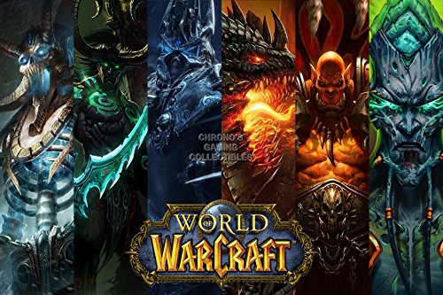 CGC Huge Poster - World of Warcraft PC - EXT164 (24
