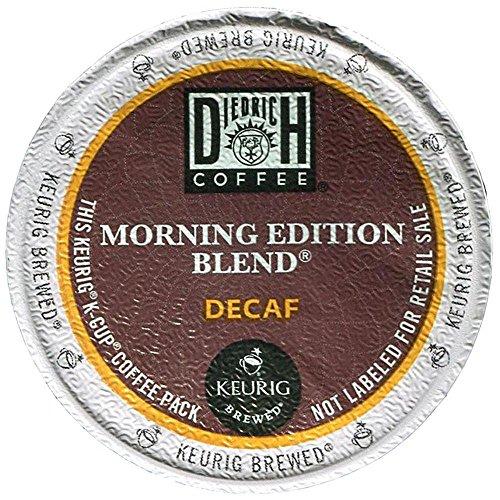 Diedrich Coffee 6744 Morning Edition Decaf Coffee K-Cups, 24/box