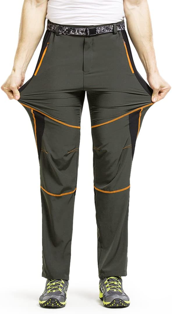 Freiesoldaten Mens Sportswear Lightweight Breathable Climbing Pants Windproof Fast Dry Hiking Mountain Trousers