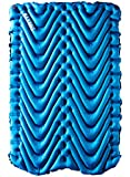 Klymit Double V Lightweight Sleeping Pad for Two (Blue)