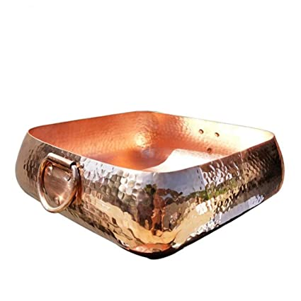 Amazon Com Kebukeyi Copper Pot Stew Boil Purple Copper Chinese