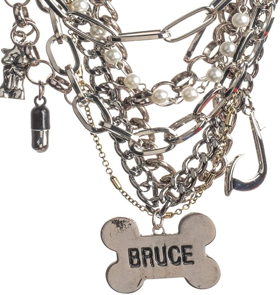 Amazon Com Birds Of Prey Bruce Choker Charm Necklace Clothing