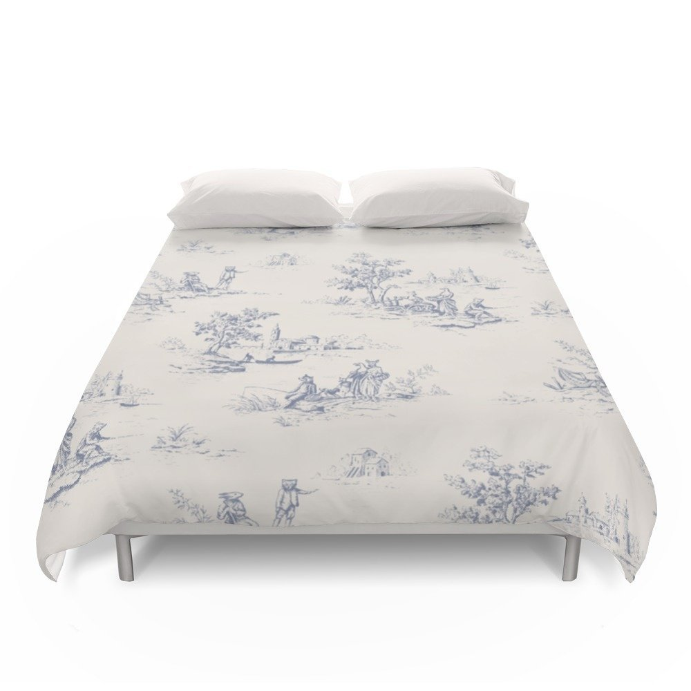 Society6 Animal Jouy Duvet Covers Full: 79'' x 79''