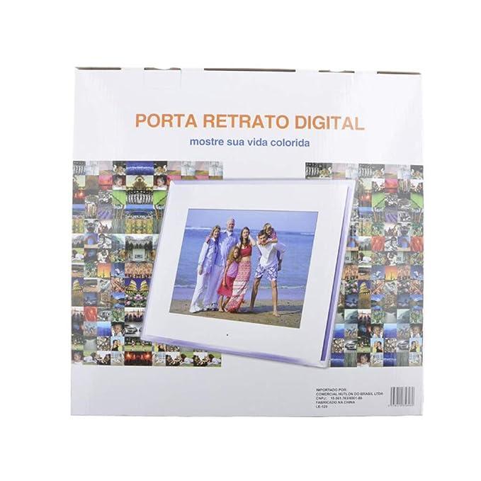 NINI Marco De Fotos Digital De 14 Pulgadas HD LED Pantalla Multi-Función De Publicidad De La Máquina/Álbum Electrónico/Regalos De Negocios: Amazon.es: ...
