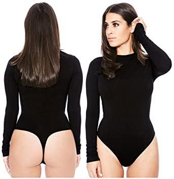b8ea3d80d6 Image Unavailable. Image not available for. Color  CCGDAAA Women s Sexy  Winter Velvet Long Sleeve Bodysuit ...