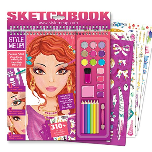 Style Me Up Makeup Artist Sketchbook Toy In The Uae
