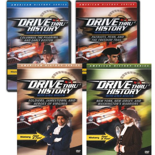 Drive Thru History: American History Series, All Episodes 1-12 in Set
